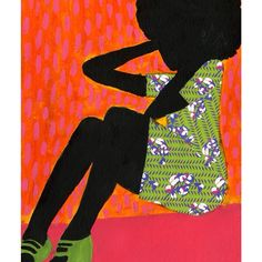 """""""Just mailed: Medium print from We The People series by Jamilla Okubo @vivaillajams. We've got 3 more of these left in stock. Get it while you can! #art…"""""""