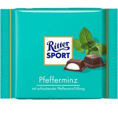 RITTER SPORT Pfefferminz Schokolade