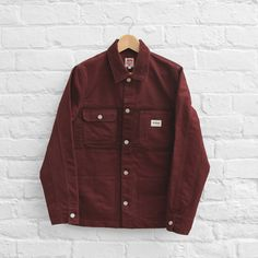 Carhartt Heritage Rey Coat - Bordeaux - £154.99