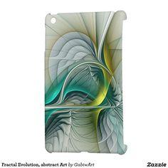 Fractal Evolution, abstract Art iPad Mini Covers