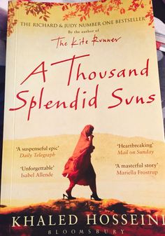 An absolute must-read! Loved every chapter! Heart-wrenching yet hopeful. Khalid hosseini is an Amazing storyteller! #books #mustreads