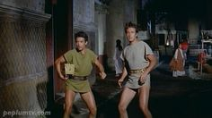 By the Gods! - Gabriele Antonini and Roland Carey in REVOLT OF THE BARBARIANS