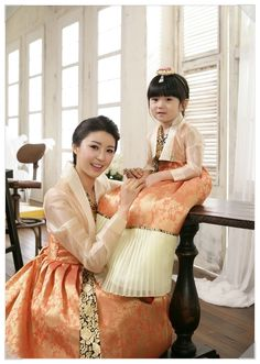 Hanbok, the traditional dress of Korea