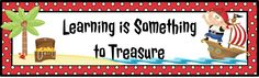 Learning is Something to Treasure (1st Grade)