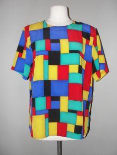 Crazy Colour, Color, Vintage Clothing Stores, Eccentric, Vintage Outfits, Textiles, Blouse, Amazing, Inspiration