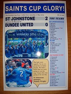 St Johnstone 2 Dundee United 0 - 2014 Scottish Cup final - souvenir print Lilywhite Multimedia http://www.amazon.co.uk/dp/B016J1V9EO/ref=cm_sw_r_pi_dp_gCqiwb13W8H2K