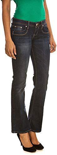 W26,31 L34 Blau LTB Valerie Boot Cut Jeans