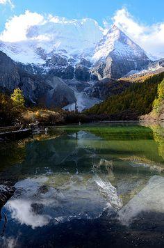Yading Nature Reserve, Sichuan, China - a mountain sanctuary and major Tibetan pilgrimage site