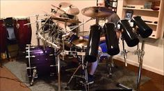 pearl rocket toms - I Need Your Love by Calvin Harris feat. Ellie Goulding Drum Cover