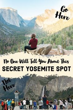 No One Will Tell You About This Secret Yosemite Spot. Ditch the crowds and enjoy the famous Tunnel View at Yosemite. Merced River, Us National Parks, California Travel, Travel Usa, Places To See, Adventure Travel, Scuba Diving, Travel Inspiration, Snorkeling