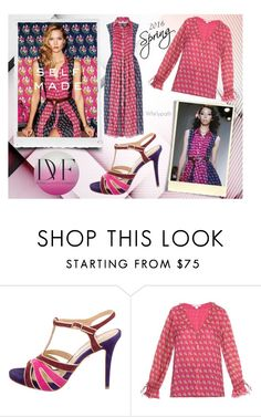 """DVF Spring 2016!"" by whirlypath ❤ liked on Polyvore featuring moda y Diane Von Furstenberg"