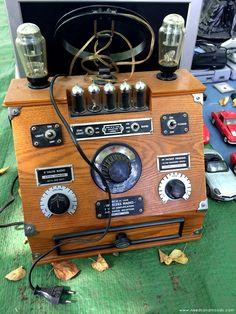 braderie de Lille 2014 radio rétro à lampes