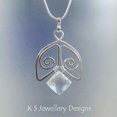Wire Jewelry Tutorial SPIRAL BELLS Earrings by KSJewelleryDesigns