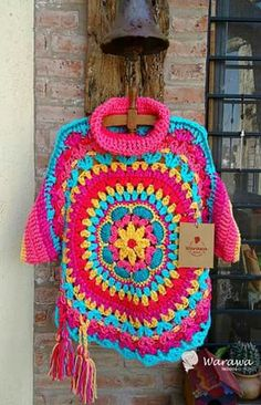 Ideas Clothes Boho Winter Ponchos For 2019 Poncho Crochet, Crochet Cowl Free Pattern, Crochet Mittens, Crochet Jacket, Freeform Crochet, Crochet Baby Hats, Crochet Clothes, Hippie Crochet, Beautiful Crochet