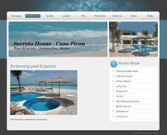 Secreto House - Playa del Secreto - México. http://www.secretohouse.com/