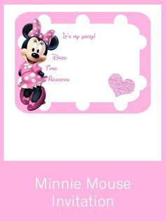 Minnie Mouse Party Set - Creative Printables