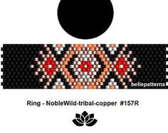 peyote ring pattern,PDF-Download, #157R, beading pattern, beading tutoria va ls, ring pattern