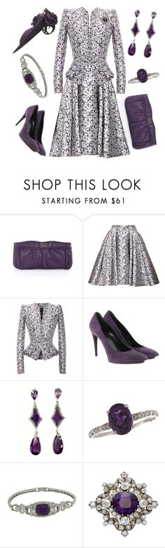 """Military Presentation Ceremony"" by nmccullough ❤ liked on Polyvore featuring BCBGMAXAZRIA, Zac Posen, Balenciaga and LALI"