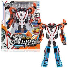 Tobot Athlon Champion 3 X Transformer Copolymer Robot Rescue Sports Team Toy for sale online Robot Action Figures, Transformers Toys, Skylanders, Toy Sale, Gifts For Kids, Champion, Darth Vader, Animation, Robots