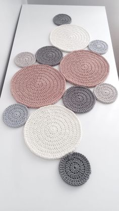 Best 11 Fractal Crochet pattern by Foxberryjam Best 11 Fractal . - Best 11 Fractal Crochet pattern by Foxberryjam Best 11 Fractal … - Crochet Motifs, Crochet Blanket Patterns, Crochet Doilies, Crochet Stitches, Knitting Patterns, Crochet Table Runner Pattern, Crochet Symbols, Crochet Circles, Crochet Home