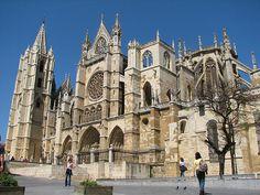Leon Cathedral - Castilla Leon, Spain