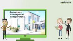 #Zaunsteine von #Häusler inkl. Profibonus #Aktion!  #Zaun #Gartenzaun Polaroid Film, Family Guy, Guys, Videos, Fictional Characters, Technology, Garden Walls, Privacy Screens, Fence