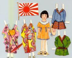 Paper Dolls: Dolls of the World