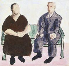 Portal Portinari - Retrato de Dona Dominga e Seu Baptista (Portrait of .........) 1941