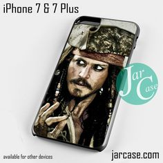 jack sparrow pirates of the caribbean 1 Phone case for iPhone 7 and 7 Plus