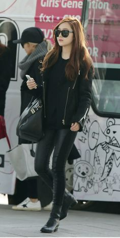 Jessica of SNSD - Airport Fashion