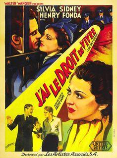 Movie Posters of the Week: Fritz Lang in America on Notebook | MUBI