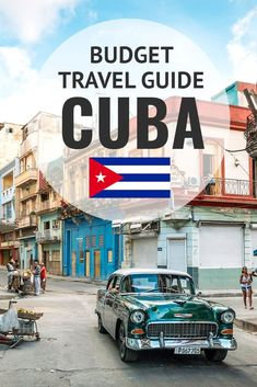 My ultimate budget travel guide to Cuba! Learn about things to do, where to stay, how much it costs, and more. #Cuba #Travel #Budget #Itinerary