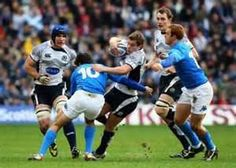 Scotland beat Italy in 6 Nations at Murrayfield on 9th February