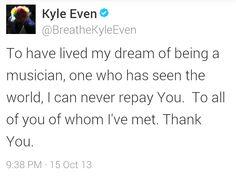Part : Kyle Even says goodbye to Breathe Carolina Breathe Carolina, I Can, Bands, Sayings, Music, Life, Musica, Musik, Lyrics