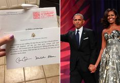 """Quando o casal Liz Whitlow e Eddie Edgar resolveu se casar, pensaram em chamar o ex-presidente dos Estados Unidos Barack Obama e sua esposa Michelle para a cerimônia, mas jamais imaginaram que receberiam uma resposta. Bom, como tudo nesta vida é possível, eles receberam. E o casal Obama retornou o convite da melhor maneira possível. """"Parabéns pelo seu casamento"""", começa o texto da carta enviada por correio para a casa de Liz. Sua filha Brooke divulgou uma imagem do cartão personalizado com o…"""