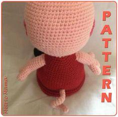 Ravelry: Peppa Pig pattern by Nicole Davis Crochet Animals, Crochet Hats, Embroidery Needles, Peppa Pig, Yarn Colors, Slip Stitch, Single Crochet, Plushies, Ravelry
