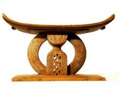 Asante stool Ethnic group: Asante Country of origin: Ghana, Africa