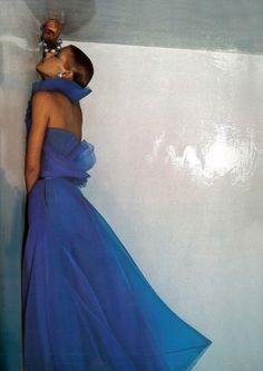 Dior by Guy Bourdin Vogue Paris 1973