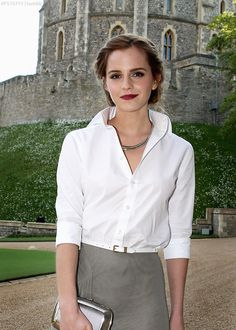 Harry Potter: Emma Watson at Windsor Castle