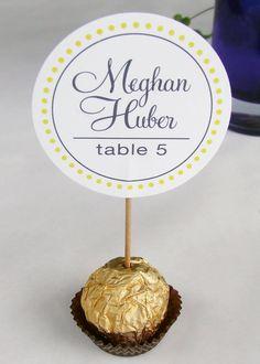 Unique Wedding Reception Ferrero Rocher by DesignsByDirection,