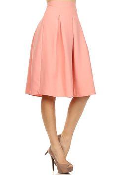 Tea Skirt - Peach – Mindy Mae's Market - medium
