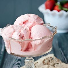 This is by far the BEST strawberry ice cream you will ever have. The citrus juice just boosts the amazing flavor and everyone who has ever tried it loves it.