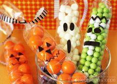 Monster cello bag treats monster treats halloween party favors halloween pictures happy halloween halloween images halloween candy halloween party favors halloween party ideas