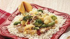 Luau Pork Stir-Fry