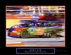Drive: Race Car Art par Bill Hall sur AllPosters.fr