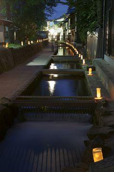 Lantern festival of Hida #japan #gifu #hidafurukawa
