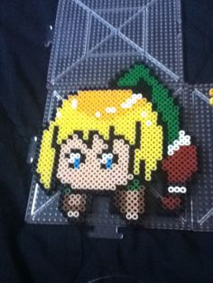 I love Armin from attack on Titan, but I couldn't find a perler bead pattern for him that I liked, so I made my own!  Feel free to share! Attack on Titan FTW! #anime