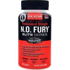 Better Quality Better Value! Buy 1 – 2 -3 -5 or 10 items & save more Ship domestic & international! SIX STAR PRO NUTRITION Professional Strength N.O. Fury Elite Series 60 Buy 1 -10 #SIXSTARPRONUTRITION