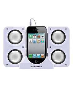 This White Naztech N40 Universal Portable Speaker is perfect! #zulilyfinds