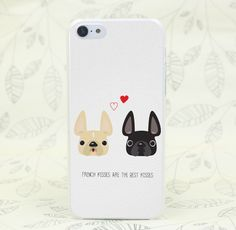 Heart French Kisses iPhone Case